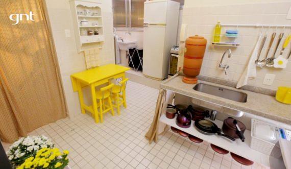 Cozinha americana no Santa Ajuda