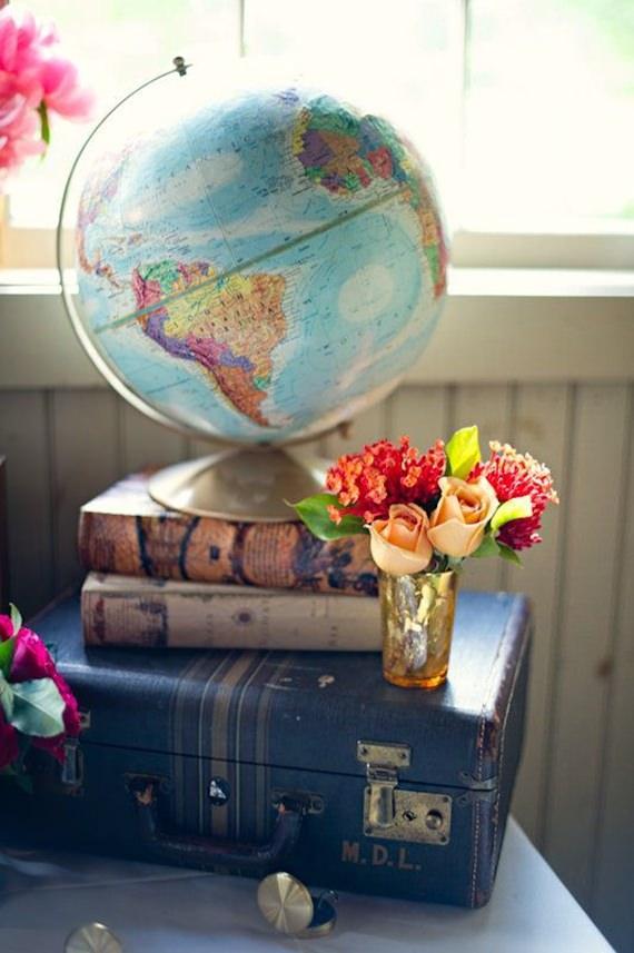 Invista em um globo terrestre para decorar a casa