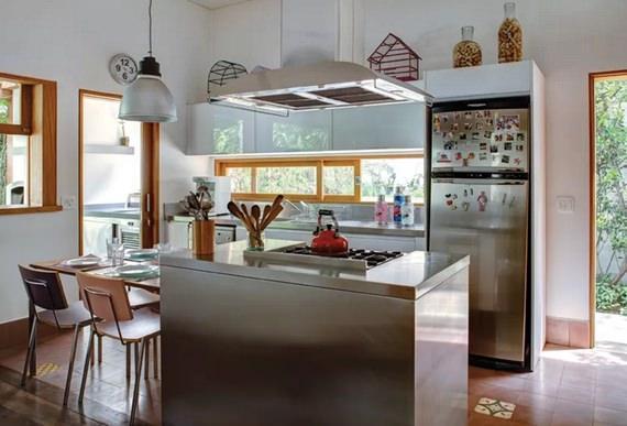 Cozinha integrada com ilha