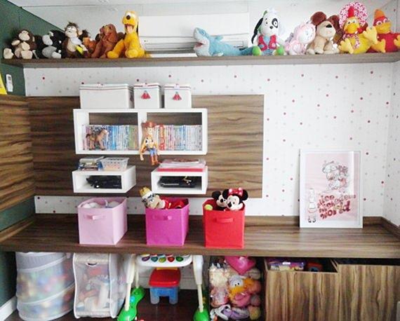 Quarto de criança organizado