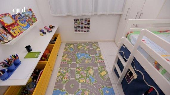 Quarto infantil no Santa Ajuda GNT