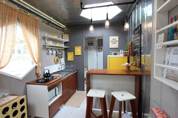 Tour pela MMM 404, casacontainer da Meu Móvel de Madeira