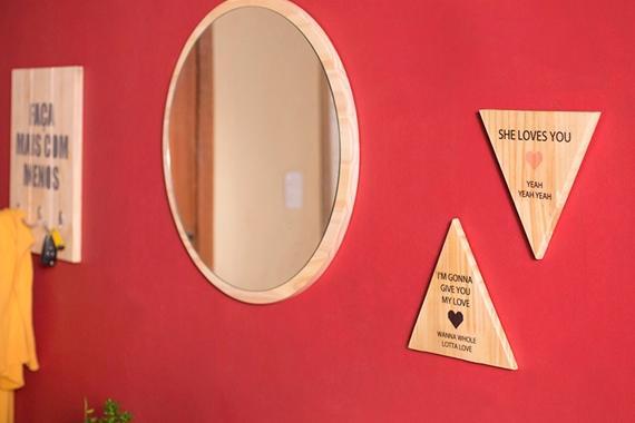 Espelho para hall de entrada