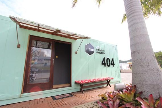 Fachada casa-container