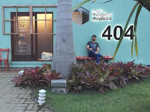 Tour pela MMM 404, casa-container da Meu Móvel de Madeira