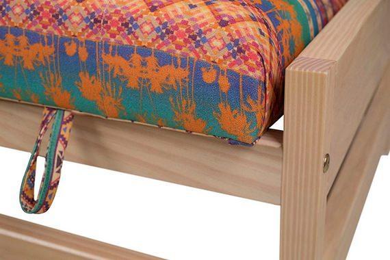 Sofá cama Container detalhe