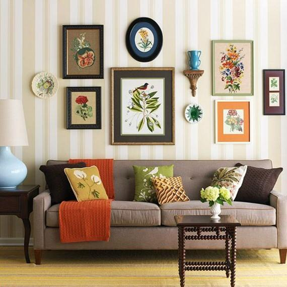 Diferentes formas de decorar com almofadas for Decoraciones rusticas para el hogar