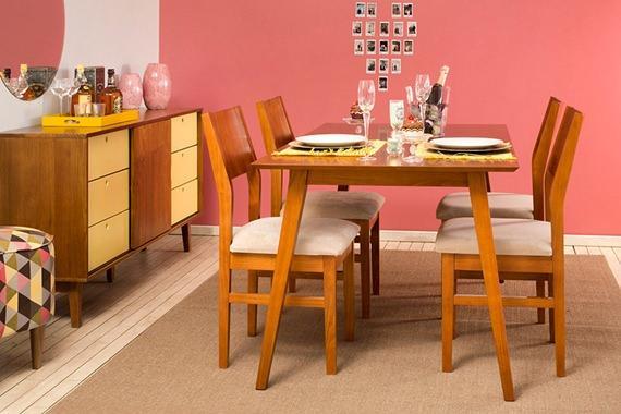 Sala de jantar para Dia dos Namorados