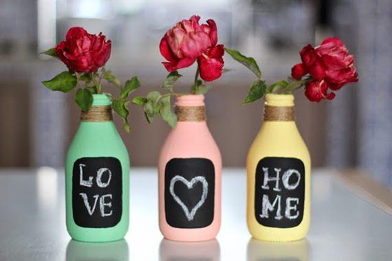 Vasinhos de garrafas
