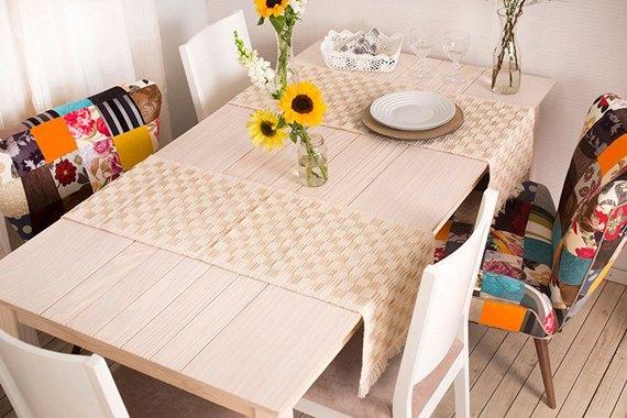 mesa-decorada-com-trilho-artesanal